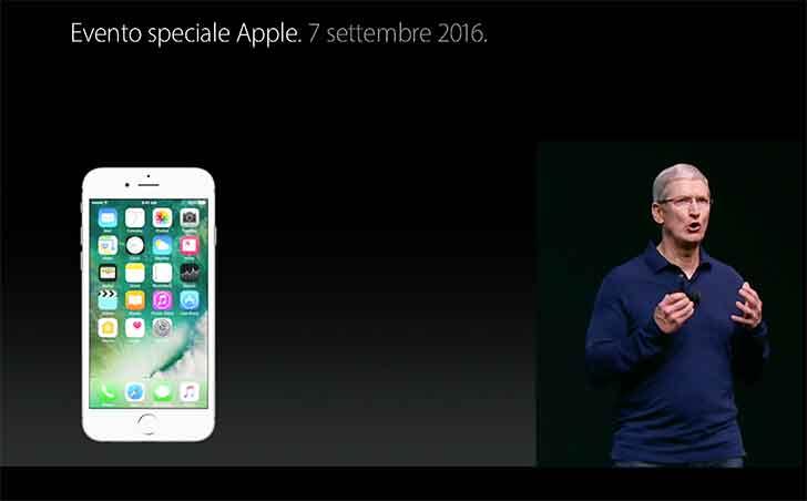 IPhone 7 in vendita anche in Italia dal 16 settembre